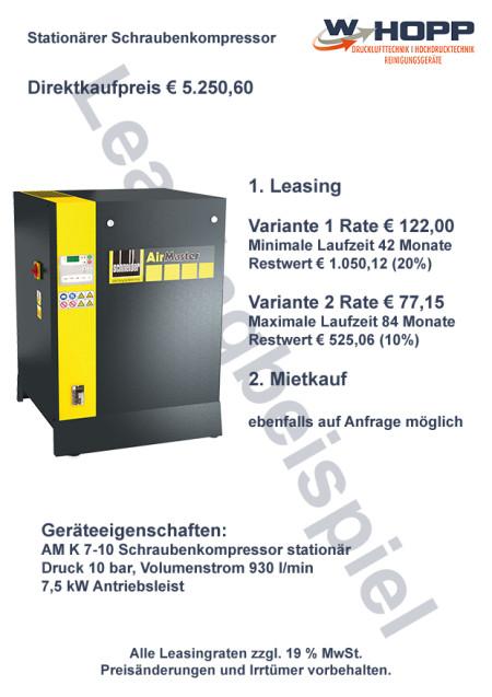 stationärer Schraubenkompressor-1